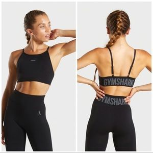 Gymshark flex strappy sports bra Small